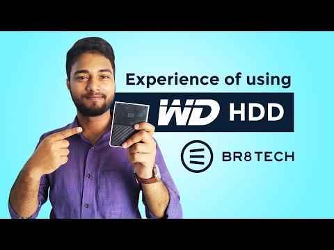 Review of WD My Passport 1TB USB 3.0 External Hard Disk || Br8 Tech