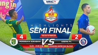 HIGHLIGHTS PERSEBAYA VS AREMA FC (FT: 4-2) - Bejo Jahe Merah Piala Gubernur Jatim 2020