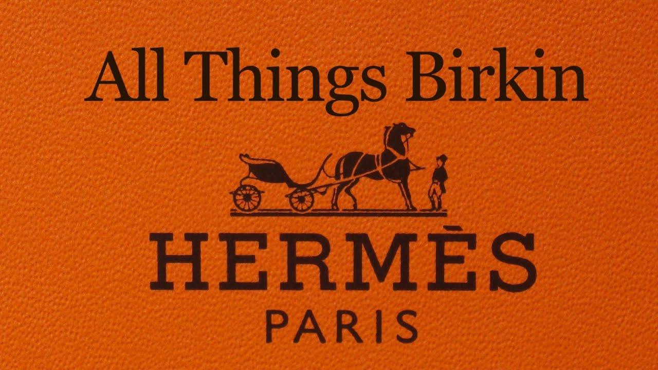 red hermes birkin handbag - Hermes Birkin Bag: Review - YouTube