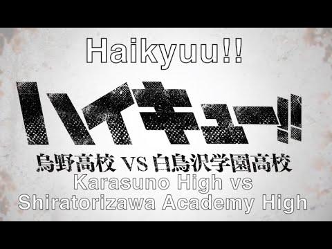 (Eng Sub) Haikyuu!! Season 3: Karasuno vs Shiratorizawa