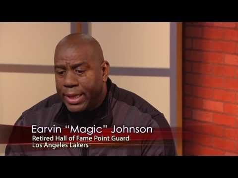 NBA Legend Magic Johnson discusses the importance of healthy habits