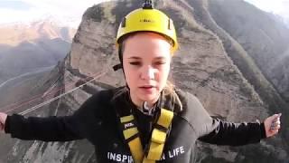 видео Роупджампинг или прыжки с веревкой