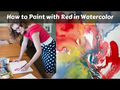 How to Choose & Use Red in your Watercolor Paintings