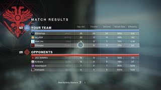 Destiny 2 Frist game with Vigilance Wing