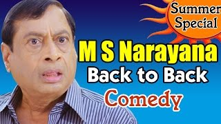 M S Narayana Back to Back Comedy Scenes