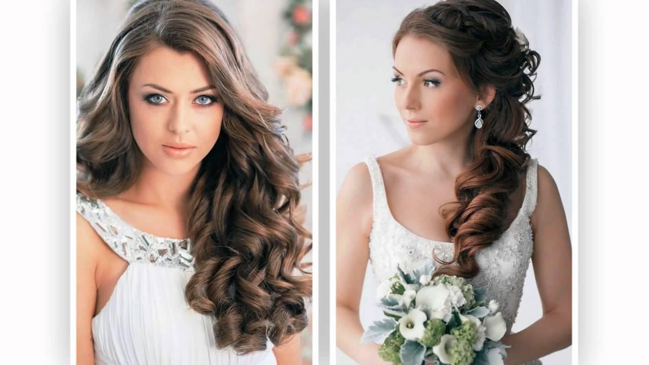 5913d55d3b33 Svatební účesy dlouhé vlasy - YouTube