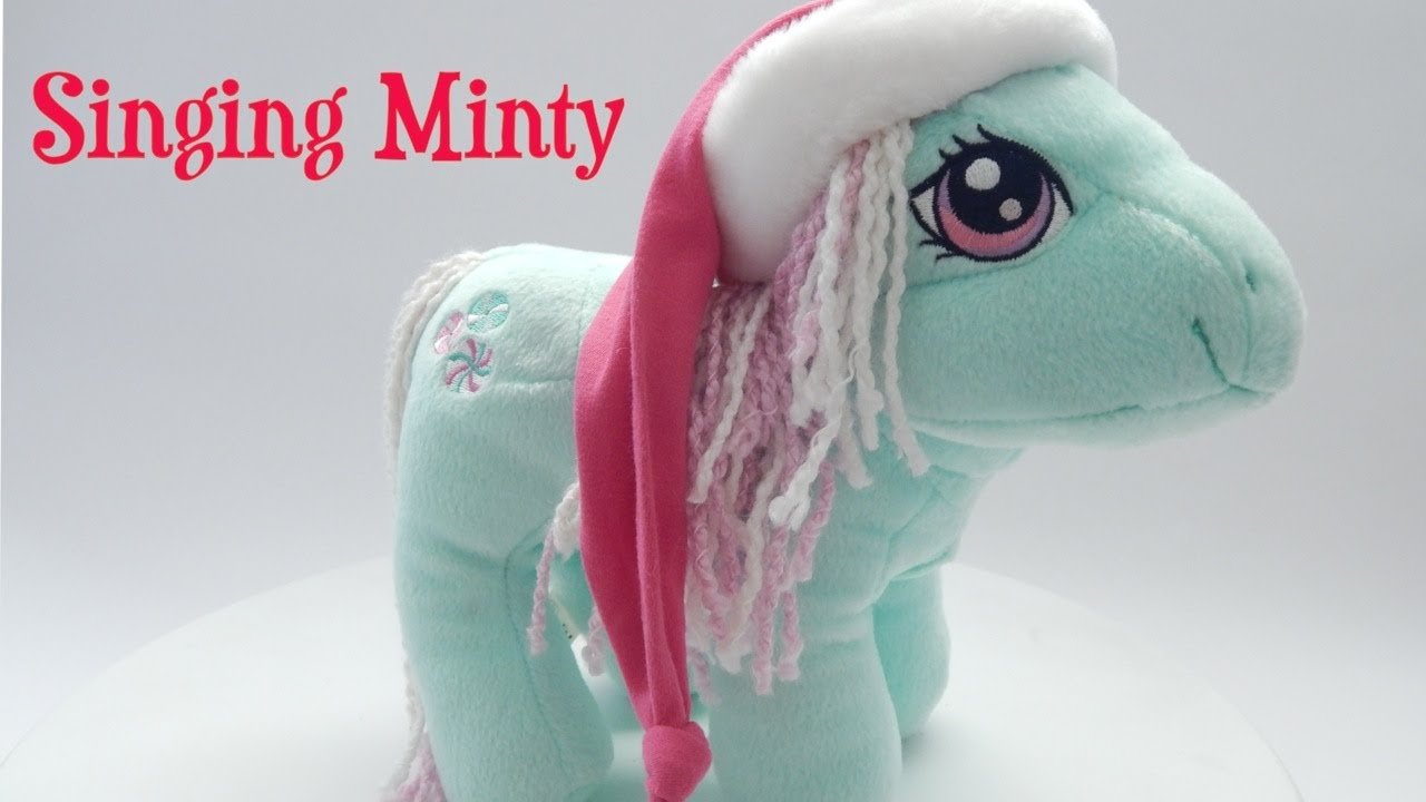 My Little Pony Singing Minty Plush Toy Review - Youtube-5480