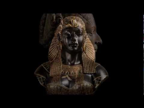 Ancient Egyptian Pharaohs and Queens Museum Sculptures Repro