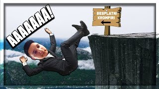 I FELL OFF A CLIFF! | Roblox