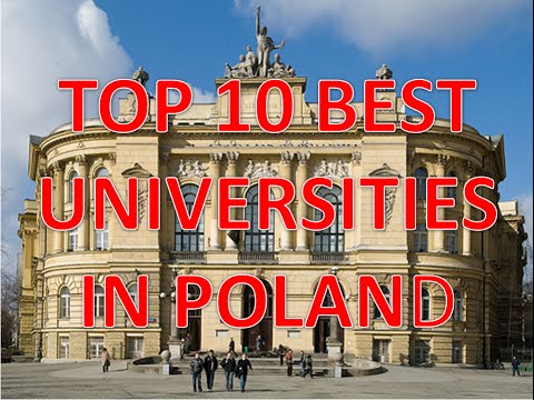 Top 10 Best Universities In Poland/Top 10 Mejores Universidades En Polonia