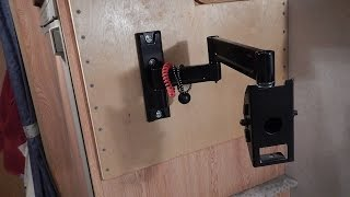 RV DIY Rock Solid TV Mount