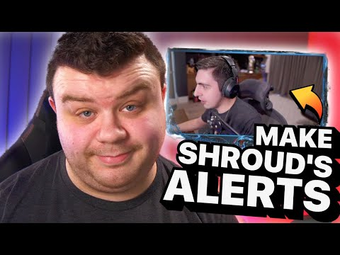How YOU Can Make Stream Alerts Like Shroud's!