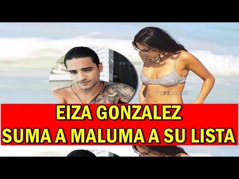 Eiza González CAUSA POLÉMICA Suma a Maluma a SU LISTA