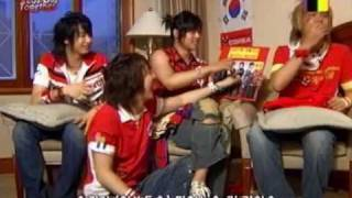 In 2006. When world cup was ongoing i think. Hyun joong's laughter ...