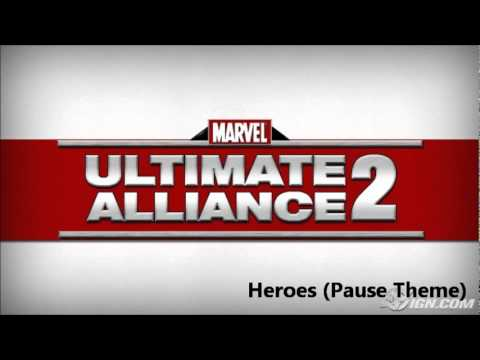 Marvel Ultimate Alliance 2 OST 102 - Heroes (Pause Theme)