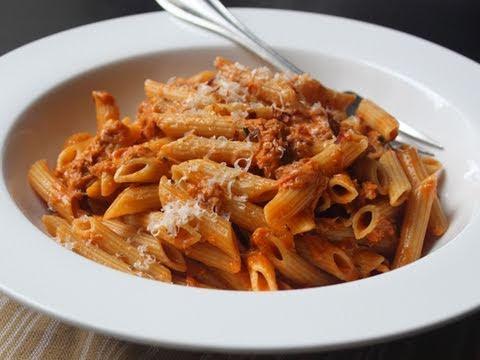 Creamy Tomato Tuna Pasta Easy Tuna Penne Pasta Recipe