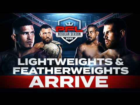 Featherweights and Lightweights Arrive at PFL Bubble