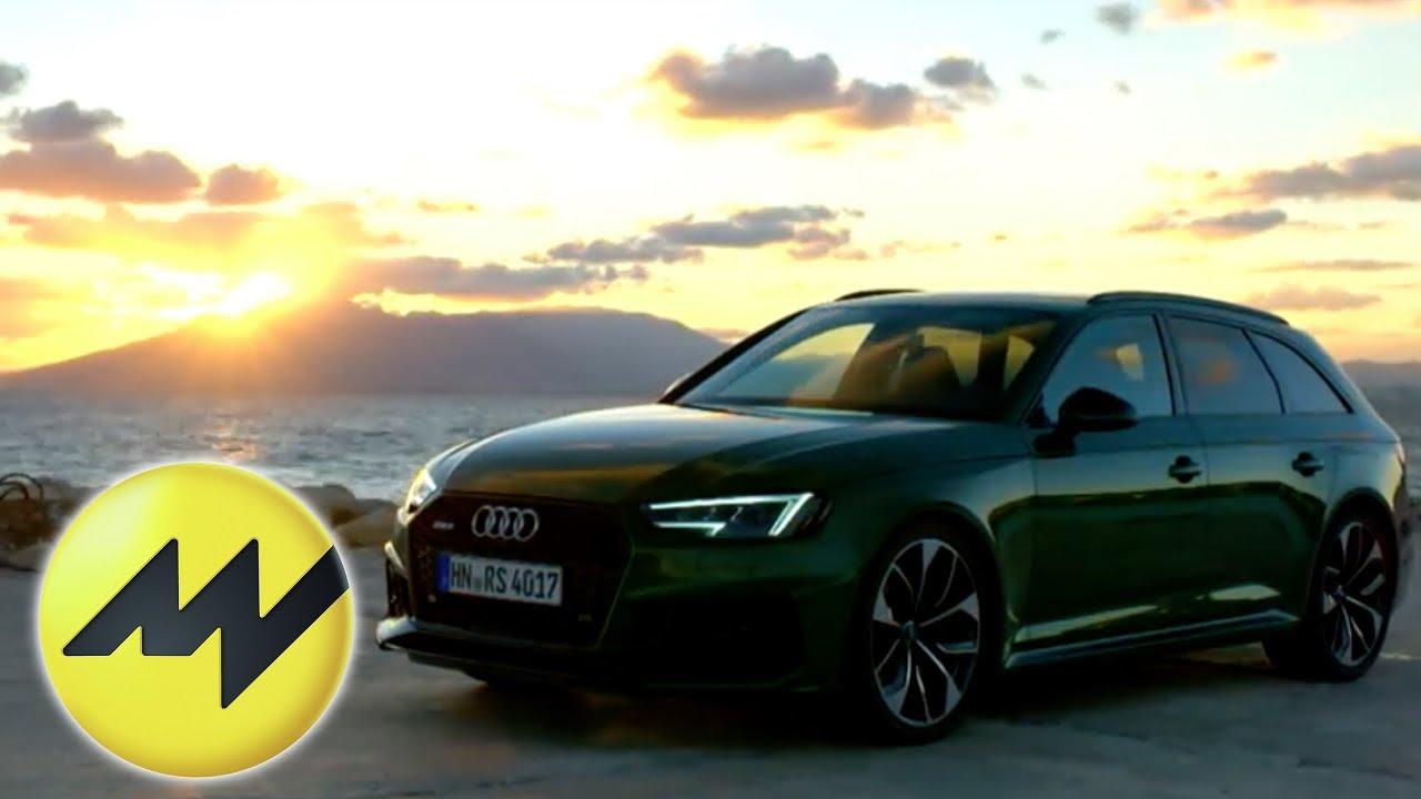 Neuer Audi Rs4 Avant Test 1 Audi Sport Elektroauto Kommt 2020