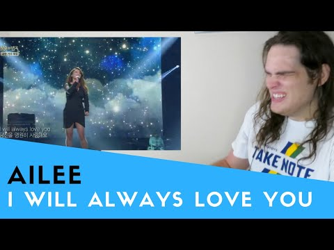 Voice Teacher Reacts to Ailee  I Will Always Love You 불후의 명곡220140412
