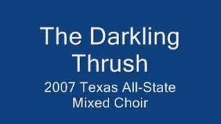 The Darkling Thrush TMEA All-State