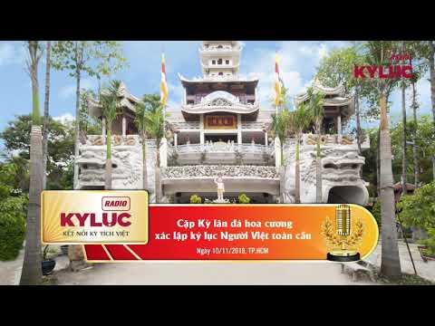 KylucRadio.vn| Cặp Kỳ lân bằng đá hoa cương của chùa Pháp Vân xác lập Kỷ lục người Việt toàn cầu