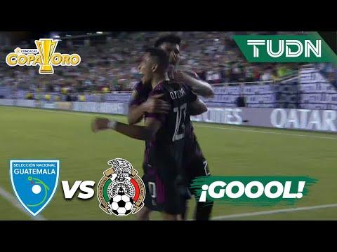 ¡Ya es goleada! ¡Gol de Orbelín! | Guatemala 0-3 México | Copa Oro 2021 | Grupo A | TUDN