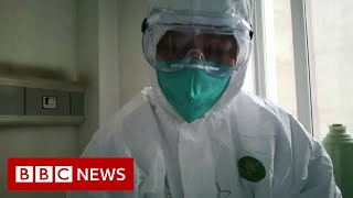 Coronavirus: British couple on cruise ship 'test positive' - BBC News