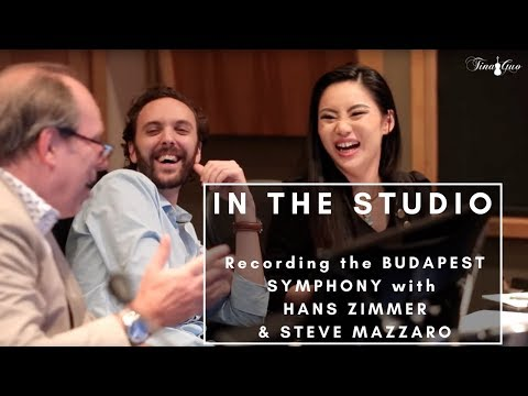 In the Studio with Hans Zimmer and Steve Mazzaro  Tina Guo