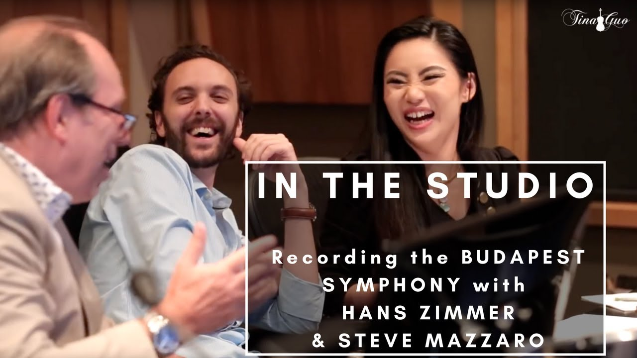 In the Studio with Hans Zimmer and Steve Mazzaro - Tina Guo