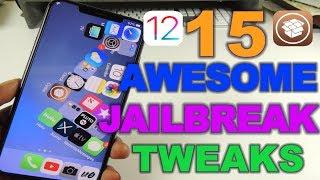TOP 10 NEW JAILBREAK TWEAKS iOS 12