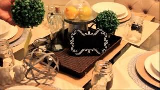 How I Create A Tablescape | Dinning Room Table Decor