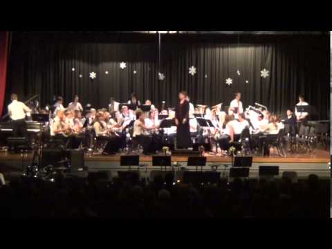 Rice Lake High School Wind Ensemble Holiday Concert 2014