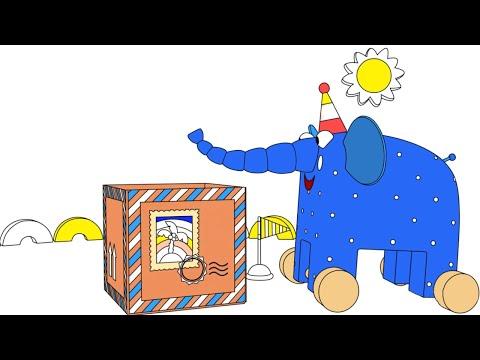 Видео: Раскраска Деревяшки — Посылка — Серия 52