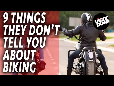 9 things they don't tell you about biking   Biker Life   Funny Motorbike Videos