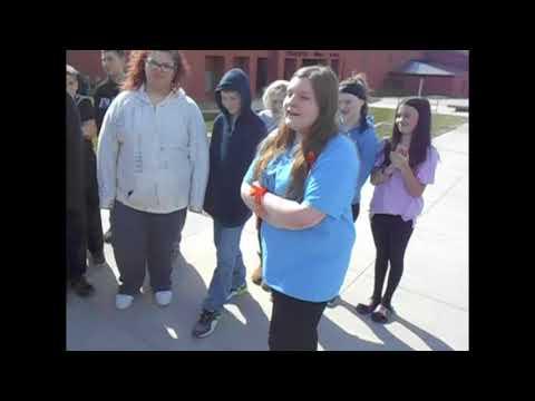 Oskaloosa High School Walk Out