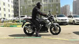 обзор мотоцикла Sym Wolf 250 SBI  Максимальная скорость