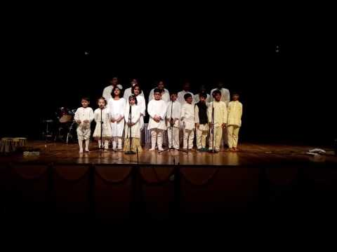 'Happiness' Song By Students Of Sai Blessed Music School, Gurgaon in Annual Function, 2016