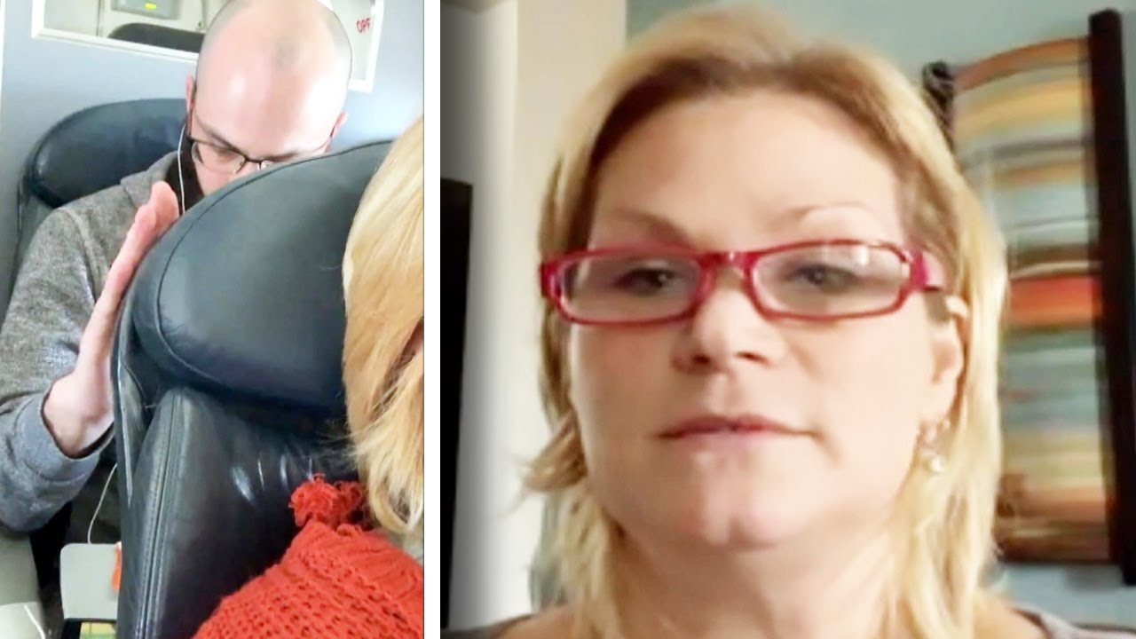 Download Woman Who Reclined Her Seat on Plane Explains Why She Did It