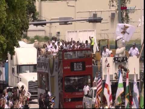June 25, 2012 - 2012 Miami Heat Championship Parade & In-Arena Celebration (1of9)
