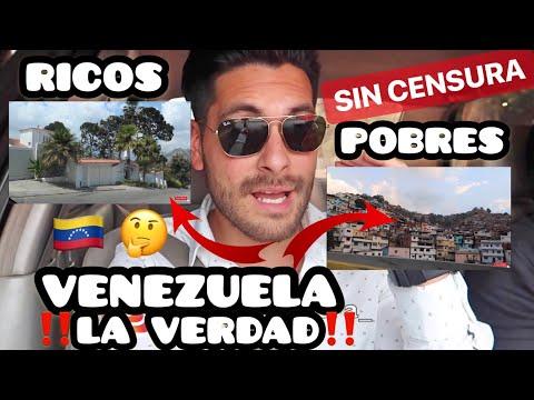 ASÍ ES LA VENEZUELA de RICOS y POBRES **¿CRISIS POR IGUAL?**