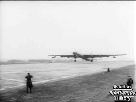 B-36 Bombers visit England