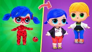 Never Too Old for Dolls! 6 Ladybug LOL Surprise DIYs