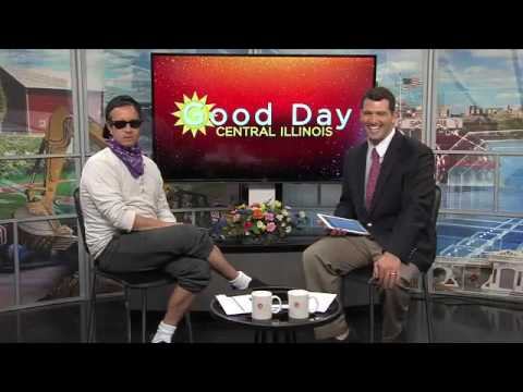 Pauly Shore on Good Day Central Illinois