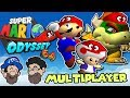 Capture ALL THE THINGS!    Super Mario Odyssey 64 MULTIPLAYER    PART 2