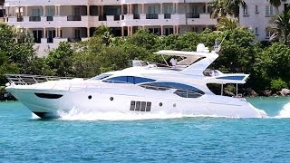 Azimut 70 Flybridge in Miami