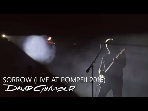 David Gilmour - Sorrow (Live At Pompeii) indir