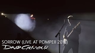 David Gilmour - Sorrow (Live At Pompeii)