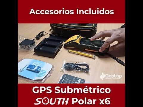 02 Accesorios Incluidos - GPS Submétrico South X6 Polar