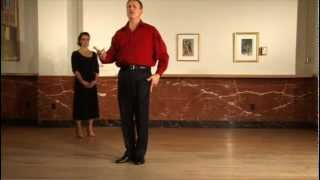 Waltz - Promenade Ladies Underarm Turn - Virtual Ballroom Lessons