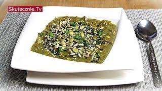 Zupa porowo-pieczarkowa z zieloną soczewicą :: Skutecznie.Tv